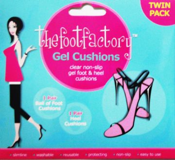 Gel Ball of Foot & Heel Cushions Twin Pack